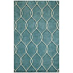 Momeni Bliss 3-Foot 6-Inch x 5-Foot 6-Inch Rug in Teal