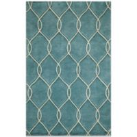 Momeni Bliss 2-Foot x 3-Foot Rug in Teal