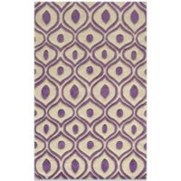Momeni Bliss 5-Foot x 7-Foot 6-Inch Rug in Purple