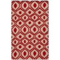 Momeni Bliss 5-Foot x 7-Foot 6-Inch Rug in Red