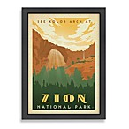 Americanflat Zion National Park Framed Wall Art