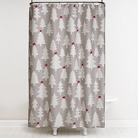 Winter Wonderland 70-Inch x 72-Inch Shower Curtain and Hook Set ...