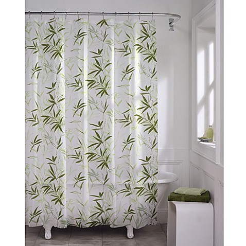 Zen Garden Peva 70 Inch X 72 Inch Shower Curtain Bed