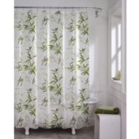 Zen Garden PEVA 70-Inch x 72-Inch Shower Curtain