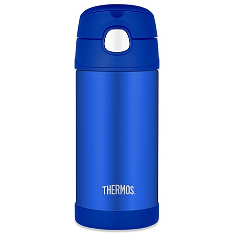 Thermos Straw Bottle