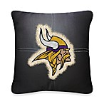 NFL Minnesota Vikings 18-Inch Letterman Throw Pillow