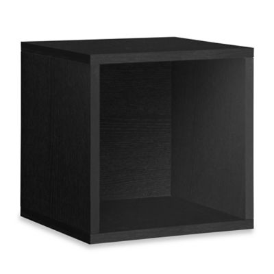 Way Basics Super Storage Cube In Black