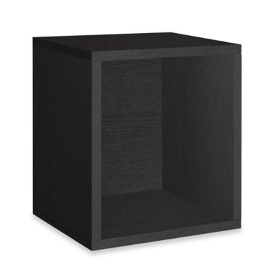 Way Basics Storage Cube Plus in Black  sc 1 st  Bed Bath u0026 Beyond & Buy Black Storage Cubes from Bed Bath u0026 Beyond