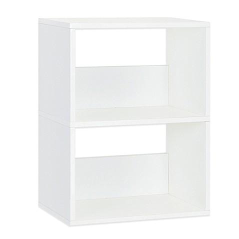 White Bookcase Kids