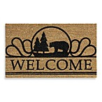 Wilderness Bear Welcome Home Door Mat
