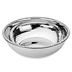 Classic Touch Stainless Steel Round Salad Bowl