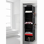 Studio 3B™ 6-Shelf Hanging Sweater Organizer in Black