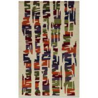 Momeni 3-Foot 6-Inch x 5-Foot 6-Inch Delhi DL-42 Rug in Multicolor