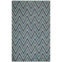 Momeni Delhi 8-Foot x 10-Foot Wool Rug in Blue