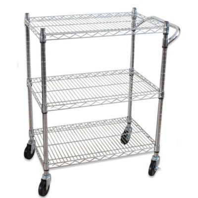 3 Tier All Purpose Utlity Cart