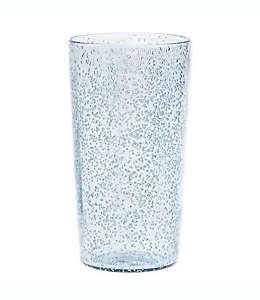 Vaso de plástico alto Bee & Willow™ Home Fizzy color azul