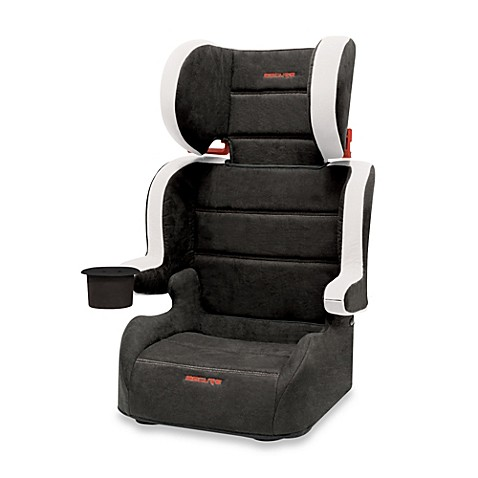 booster car seats secure travel folding car seat in black grey from buy buy baby. Black Bedroom Furniture Sets. Home Design Ideas