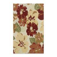 Couristan® Novella Rosebud 4-Foot x 5-Foot 10-Inch Rug