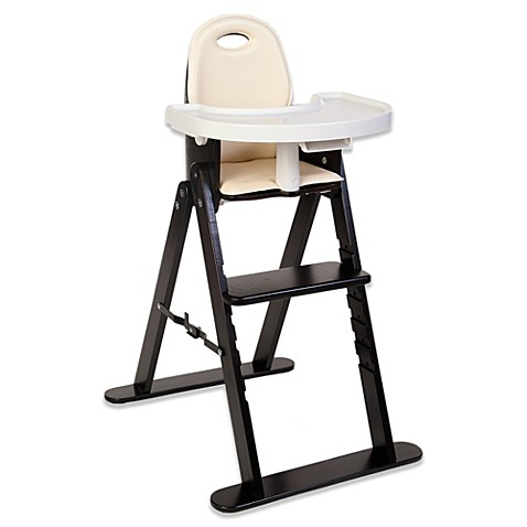 svan baby to booster high chair in espresso almond buybuy baby. Black Bedroom Furniture Sets. Home Design Ideas