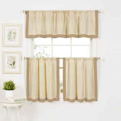 Wilton Window Curtain Tier Pairs