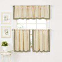 Wilton 36-Inch Window Curtain Tier Pair in Sage