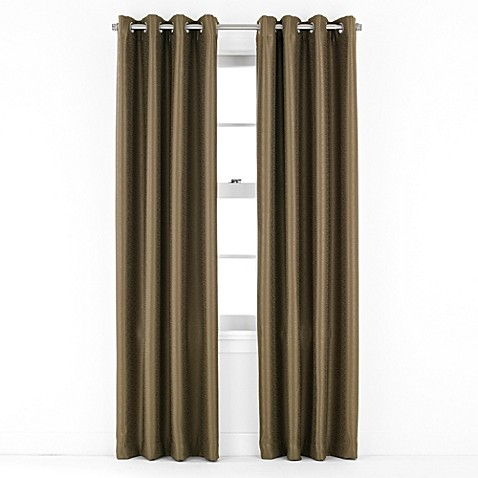 J Queen New York Birch Grommet Window Curtain Panel