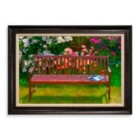 The Bench 31-Inch x 43-Inch Wall Art