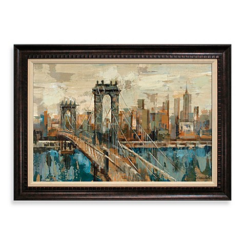 NY View 31-Inch x 43-Inch Wall Art - Bed Bath & Beyond