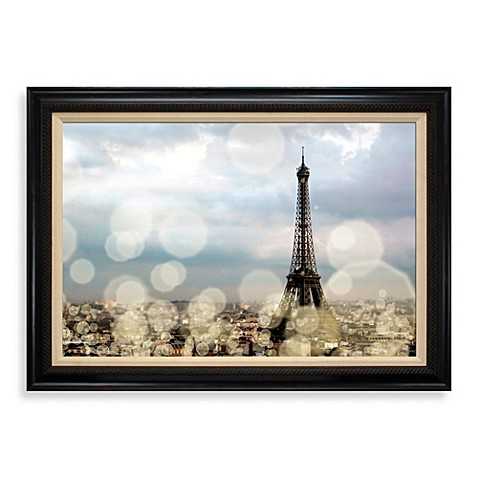 city of lights 31 inch x 43 inch wall art bed bath beyond. Black Bedroom Furniture Sets. Home Design Ideas