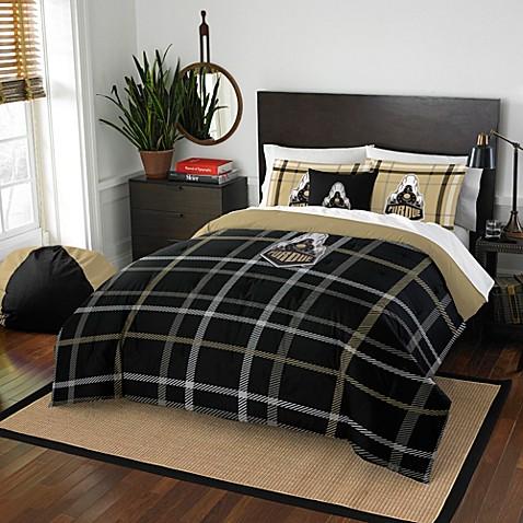Purdue University Embroidered Comforter Set Bed Bath Beyond