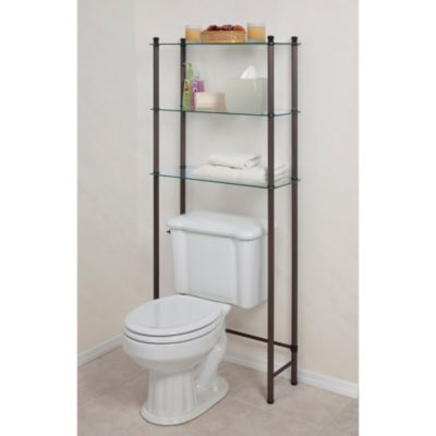 letagere 3 shelf space saver in oil rubbed bronze