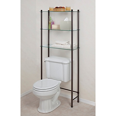 L\'Etagere 3-Shelf Space Saver in Oil Rubbed Bronze - Bed Bath & Beyond