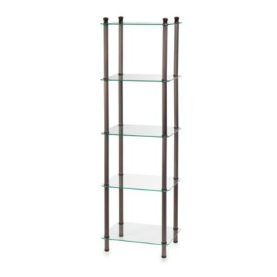 5shelf tower in oil rubbed bronze