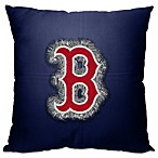 MLB Boston Red Sox 18 Inch Letterman Throw Pillow