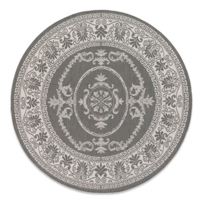 buy white round rug from bed bath & beyond