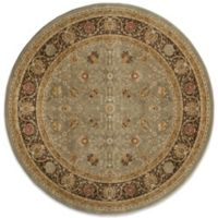 Momeni Royal 7-Foot 10-Inch Round Rug in Slate