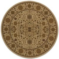 Momeni Royal 7-Foot 10-Inch Round Rug in Ivory