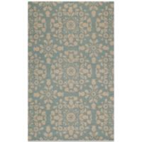 Momeni Suzani 3-Foot 6-Inch x 5-Foot 6-Inch Hook Rug in Blue