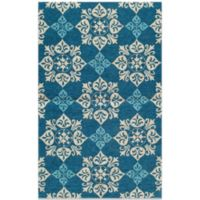 Momeni Veranda 5-Foot x 8-Foot Rug in Blue