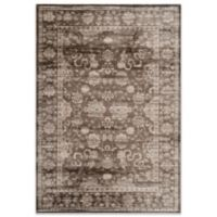 Safavieh Vintage 5-Foot 1-Inch x 7-Foot 6-Inch Rug in Brown/Ivory