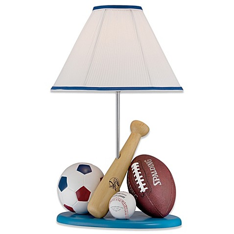 Lite source all sport sports themed table lamp with fabric shade lite source all sport sports themed table lamp with fabric shade mozeypictures Choice Image