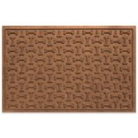 Weather Guard™ 23-Inch x 35-Inch Dog Treats Door Mat in Dark Brown