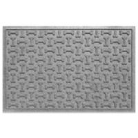 Weather Guard™ 23-Inch x 35-Inch Dog Treats Door Mat in Grey