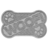 Weather Guard™ 23-Inch x 35-Inch Dog Bone Door Mat in Grey