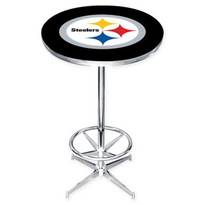 Buy nfl pub table from bed bath beyond nfl pittsburgh steelers pub table watchthetrailerfo