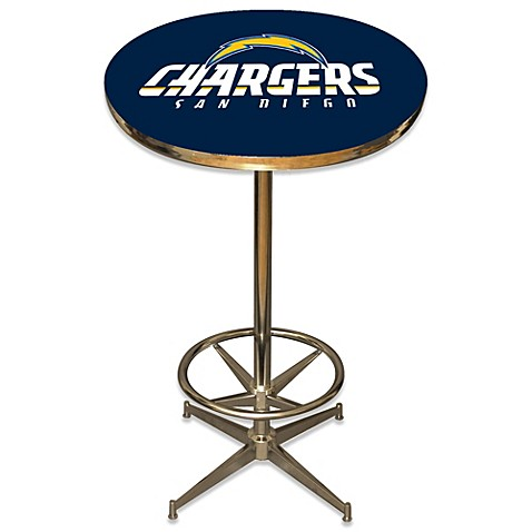 Nfl san diego chargers pub table bed bath beyond nfl san diego chargers pub table watchthetrailerfo