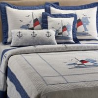 Donna Sharp Sailboat Standard Pillow Sham
