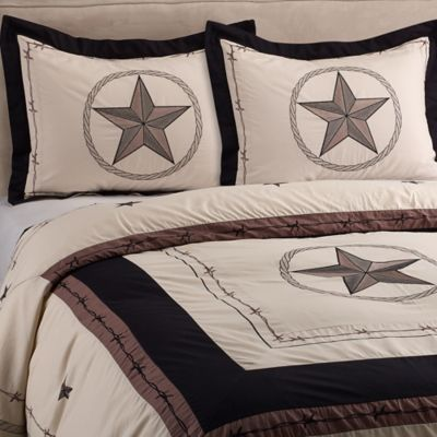 Donna Sharp Texas Star Shower Curtain Curtain