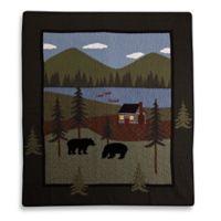 Donna Sharp Bear Lake Throw Blanket