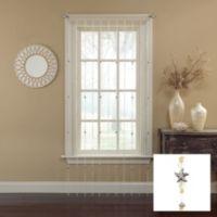 Croscill® Starfish Jewelry Strand 63-Inch Window Curtain Panel